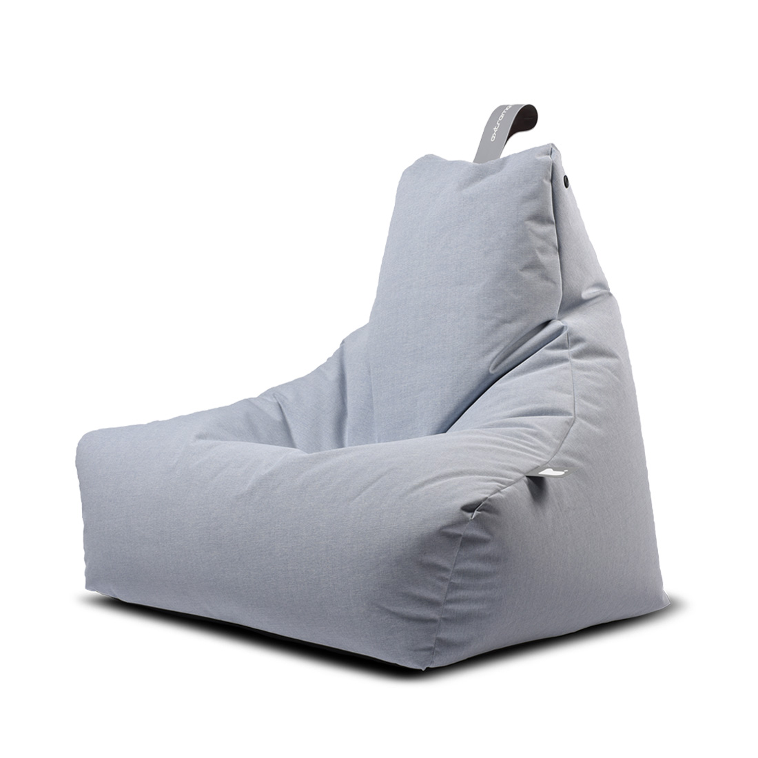 INDOOR MIGHTY BEAN BAG - PASTEL GREY
