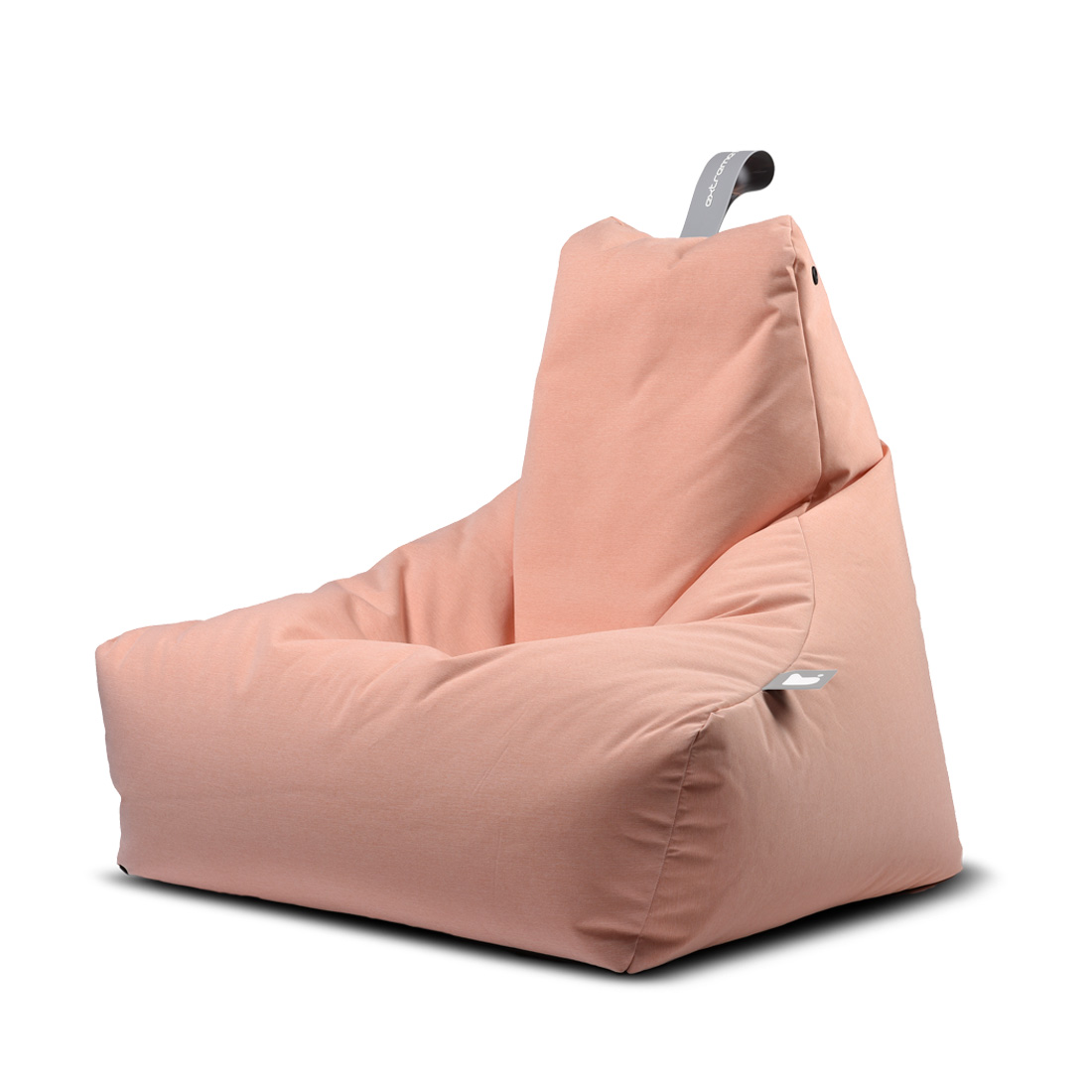 INDOOR MIGHTY BEAN BAG - PASTEL ORANGE