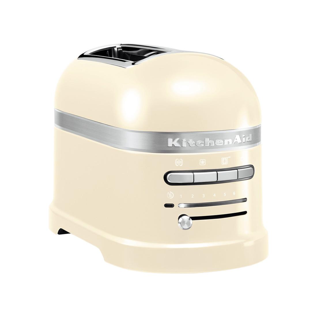 KITCHENAID ARTISAN 2 SLICE TOASTER - almond cream