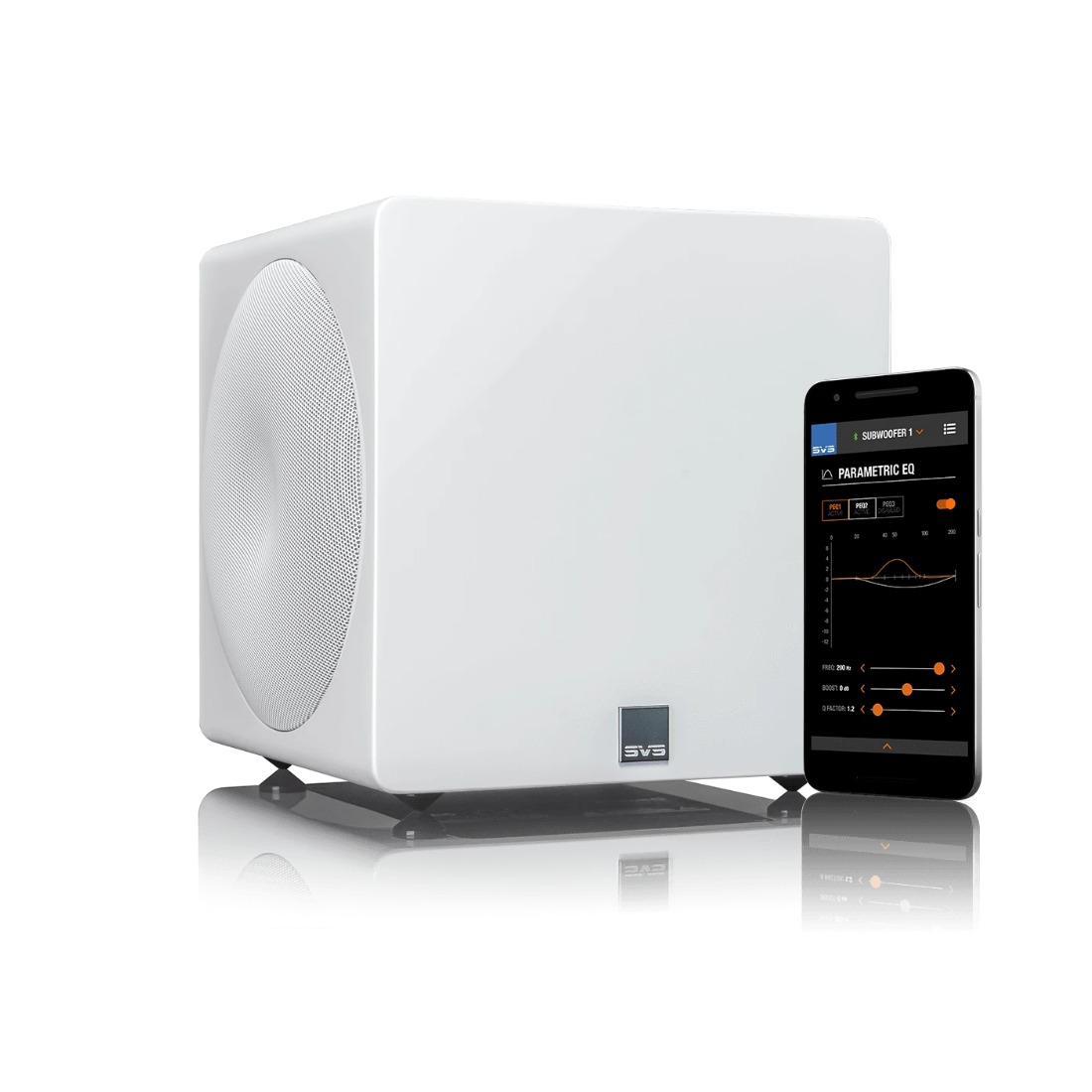 SVS 3000 Micro (Piano Gloss White)